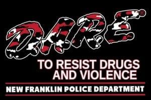 D.A.R.E. Franklin Police Department Logo